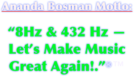 Ananda Bosman Motto: 